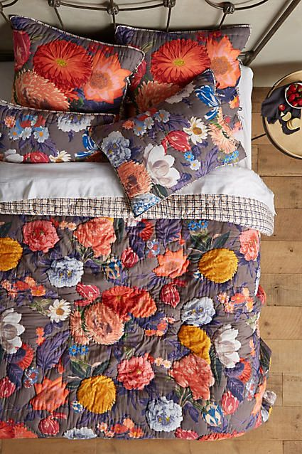 Agneta Quilt - anthropologie.com