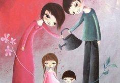 """Les 15 principes de María Montessori pour éduquer des enfants heureux. """"Aide-moi à faire les choses par moi-même."""" María Montessori"""