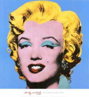Andy Warhol, American Pop Art Artist: Shot Blue Marilyn, 1964