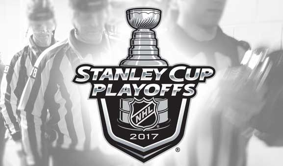 NHL Referees and Linesmen for Round 2 of the 2017 Stanley Cup Playoffs