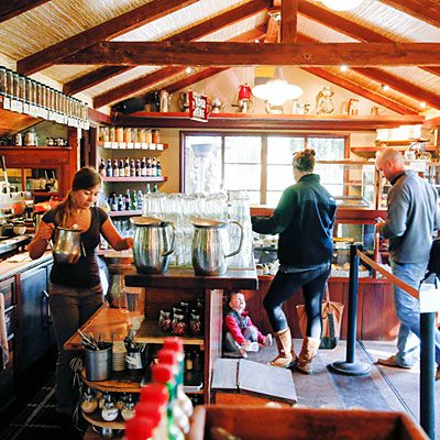Carb lovers flock to Big Sur Bakery.