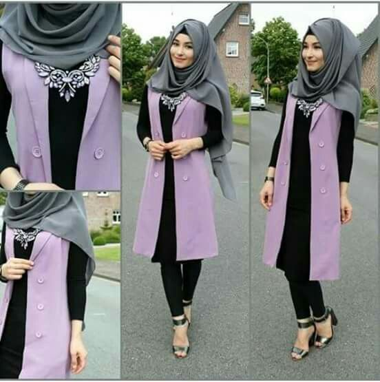 3184 Best Images About Hijab Fashion On Pinterest Hijab Street Styles Ootd And Crepe Top
