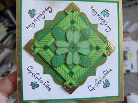 DIY St. Patrick's Day CardCrafts For Kids, Crafts Ideas, Saint Patricks Day, Handmade Cards, Art And Crafts, Fun Stuff, St Patricks Day, Diy Home, Cards Crafts