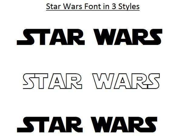 Star Wars alfabet, Star Wars Svg, 3 STYLE lettertypen Star Wars lettertype, Star Wars gesneden Studio bestanden, Cricut Cut bestanden, bestanden, Svg lettertypen,