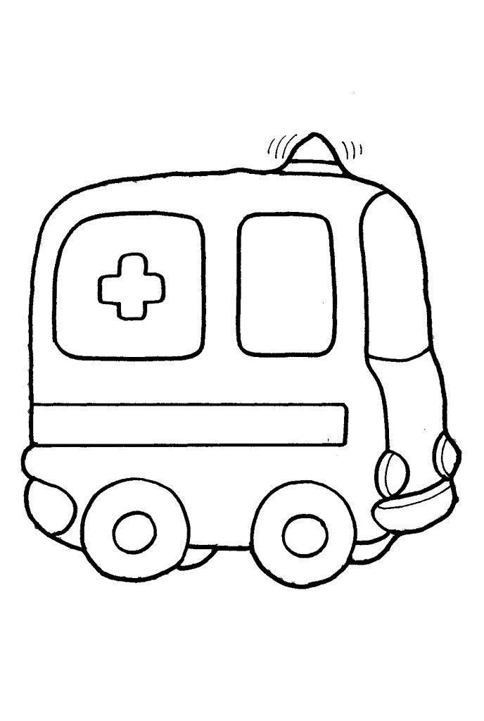 Раскраски машинки для малышей 21 | Omalovánky | Pinterest ...