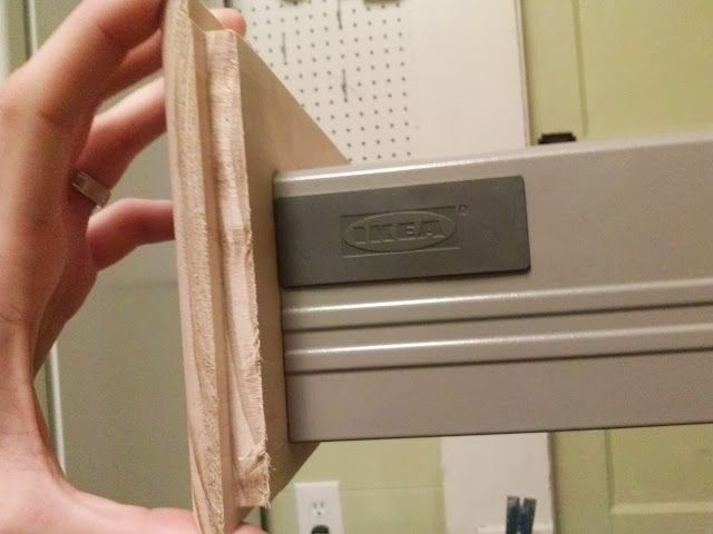 Make Custom Drawer Fronts for RATIONELL drawers