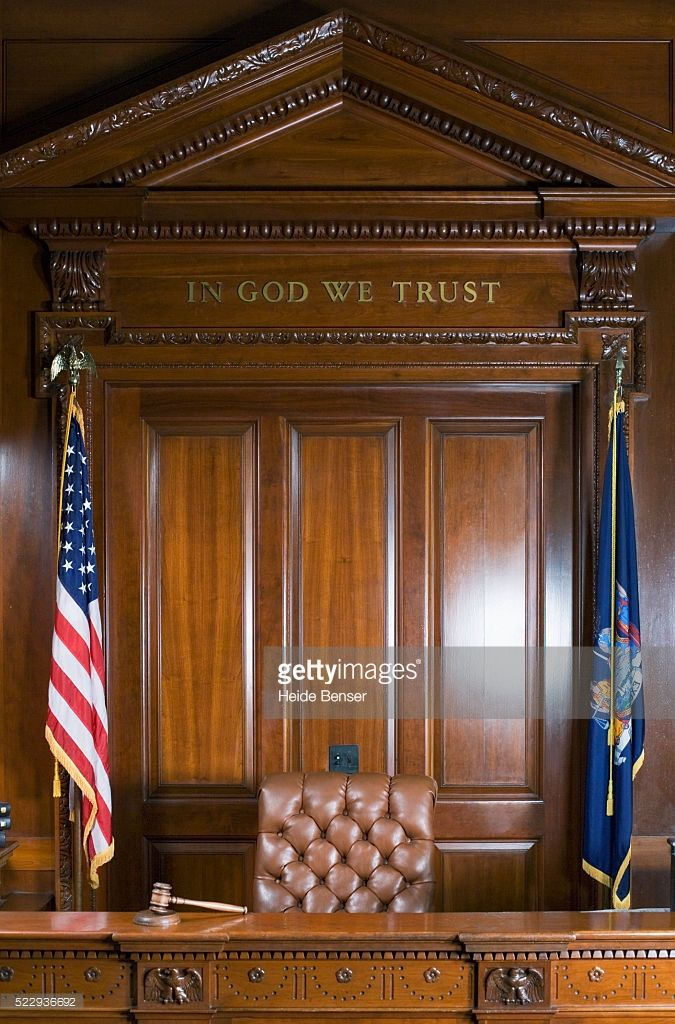 Judge S Bench In Courtroom In 2019 Bench Lawyer Law