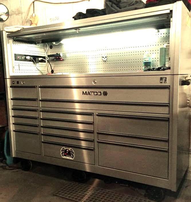 Matco mini toolbox ensilage fork