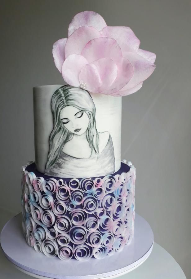 Cake For A Young Lady By Couture Cakes Olga