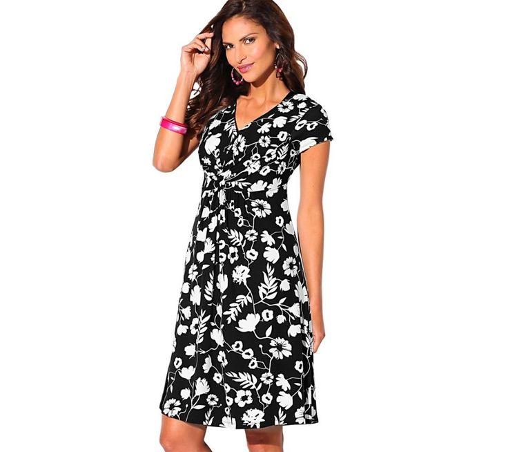 Šaty s potiskem květin   blancheporte.cz #blancheporte #blancheporteCZ #blancheporte_cz #dress #saty