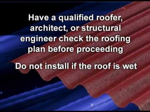 Ondura Roofing Install Ondura 6 Ft 7 In X 4 Ft Asphalt