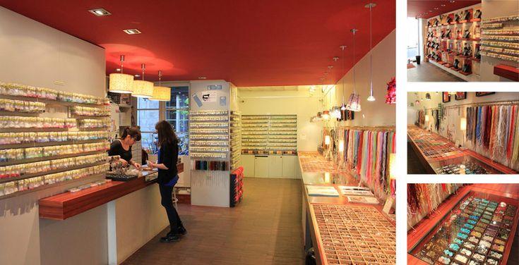 Matière Première, a shop for beading crafts (12 rue de Sévigné 75004 Paris) + huge online store