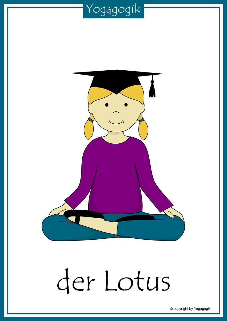 Kinderyoga Flashcards Lotus