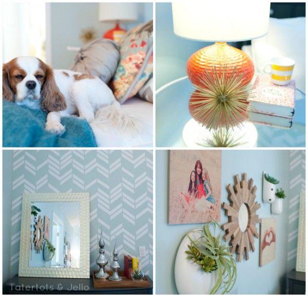 Romantic Master Bedroom Makeover in 5 Easy Steps!