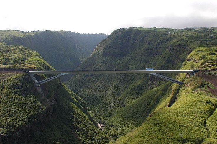 Grande Ravine Gregory on Reunion Island, East of Madagascar
