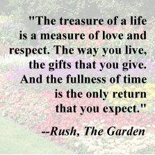 The Garden - Rush                                                                                                                                                                                 More