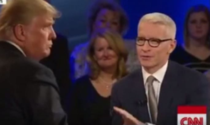 With One Answer Trump Reveals That He's Terrified Of Debate Moderator Anderson…