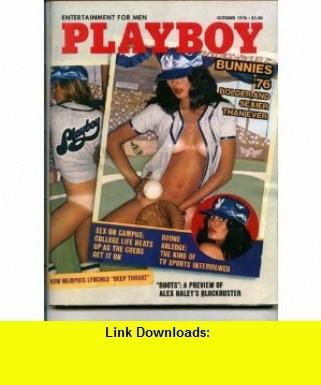 Playboy Volume 23 Number 10, October 1976 Hugh Hefner, Richard Rhodes, Alex Haley and others ,   ,  , ASIN: B000JD54DQ , tutorials , pdf , ebook , torrent , downloads , rapidshare , filesonic , hotfile , megaupload , fileserve