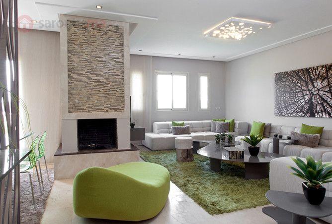 Joli appartement bouskoura golf city de 154m ref for Appartement design casablanca