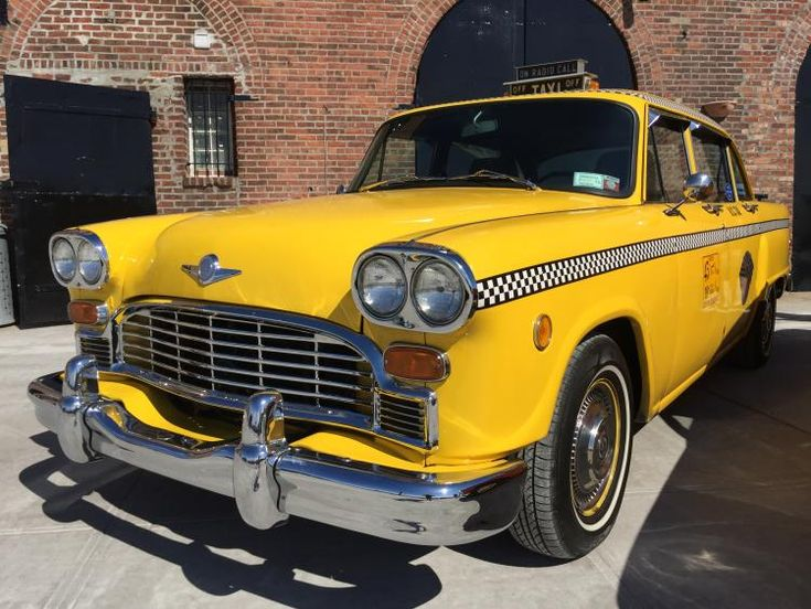 The Checker is often referred to as the King of Cabs.