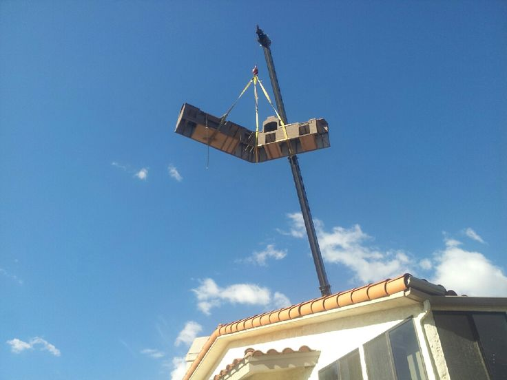 BBQ Island Crane Job In Orange County, Ca. Extreme Backyard Designs 2330 S.  Vineyard Avenue, Ontario, Ca 91761