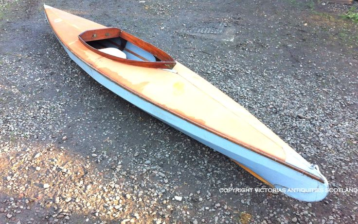 Lovely Antique sea kayak! For sale at Victorias Antiquities Scotland <3