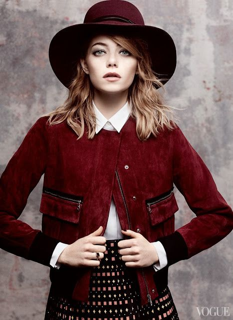 ston1 Vogue US Maio 2014 | Emma Stone por Craig McDean [Editorial]