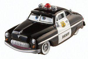 Disney/Pixar Cars, 2015 Radiator Springs Die-Cast Vehicle, Sheriff #3/19, 1:55 Scale