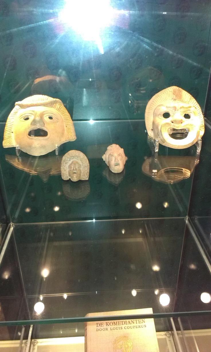 Griekse maskers - RMO Leiden