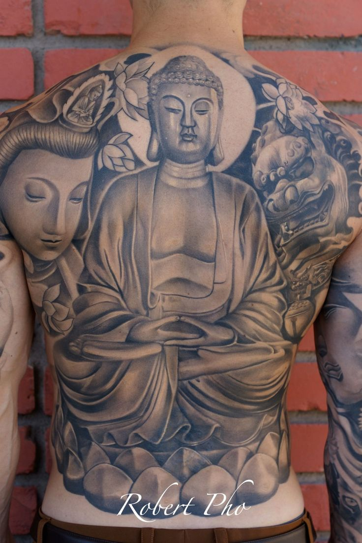 Tattoo designs on the back - 50 Most Amazing Full Back Tattoos
