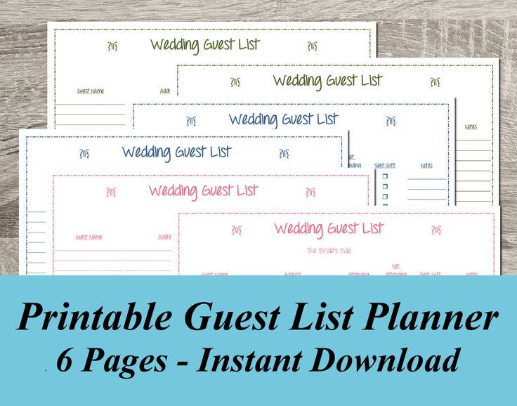 8 best Chore Charts by Purple Confetti Papers images on Pinterest - printable guest list template