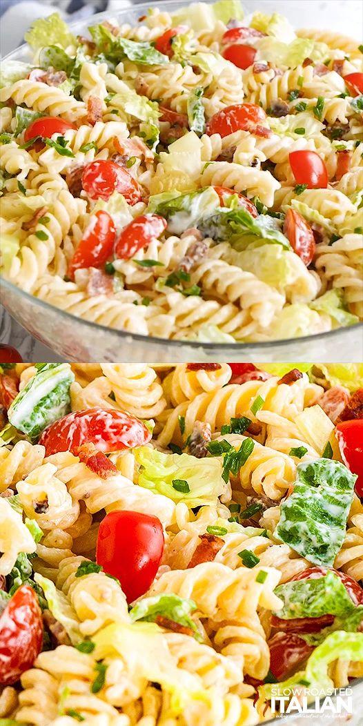 BLT Pasta Salad  – Salate & Dressings
