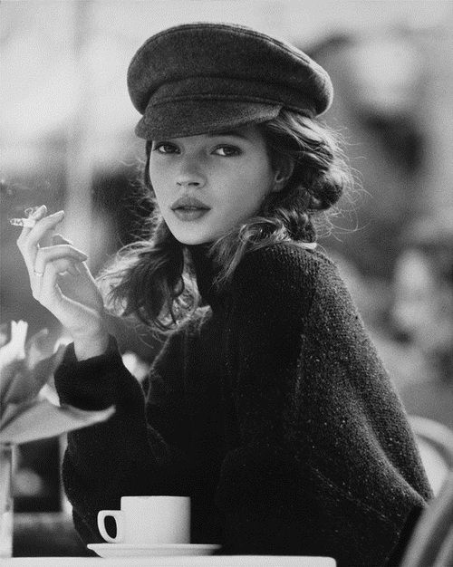 Kate Moss Love the young look