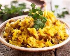 Curry de veau à l'indienne