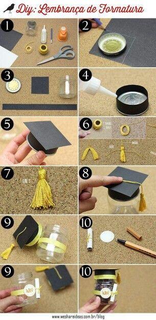 Para las graduaciones. Excelente decoración