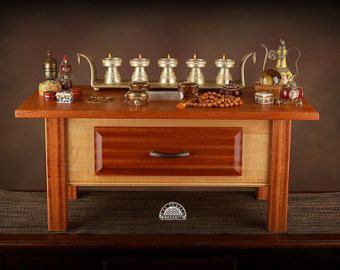 Altare di meditazione stile piano di The Yankee falegnameria