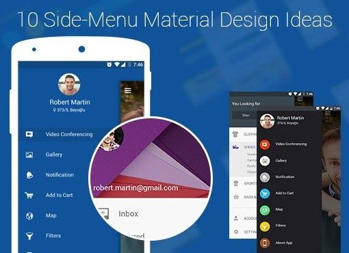 Nine Hertz brings for you a great freebie design to revamp the whole look of side menu in your mobile app. Download it FREE today. Really, it's amazing.