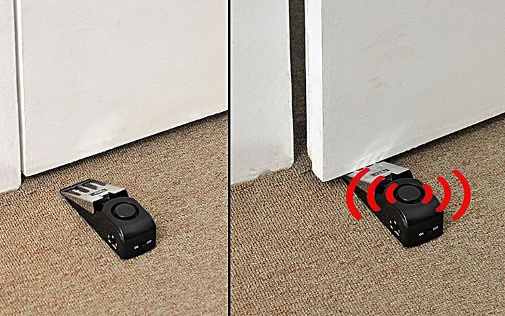 Security Doorstop Wedge Siren Alert - 120dB Alarm #UnbrandedGeneric
