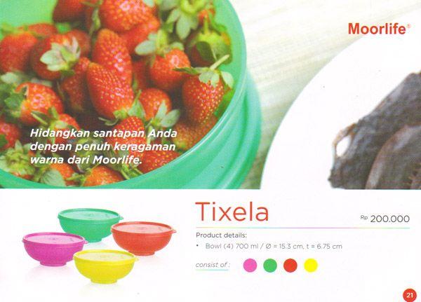 Moorlife Tixela Rp 200.000,- 1 set terdiri dari 4 pcs dengan 4 pilihan warna