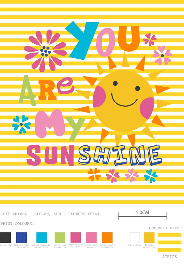 You Are My Sunshine - print by @designbyday: Illustrations, Sunshine Summer Fun, Kids, Solecito, Prints, Gramma Things, Happy Things