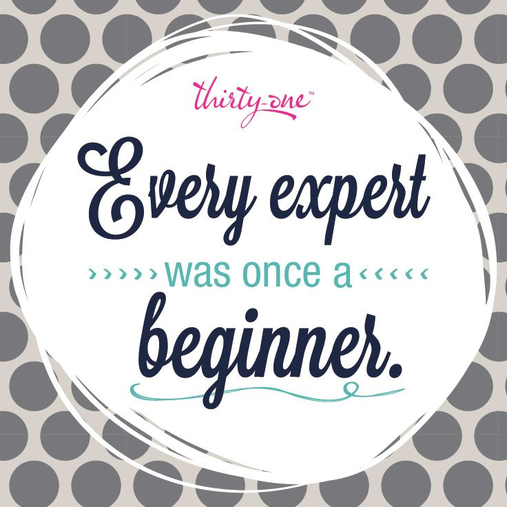 You have to start somewhere! I'd love to share my story with you! www.mythirtyone.com/justjenn