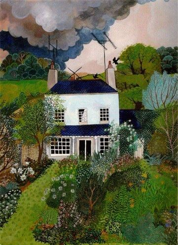 """My Mother's House"" by Lucy Raverat - Art Naïf - UK"