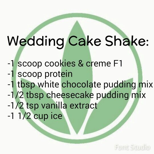 Wedding Cake Herbalife