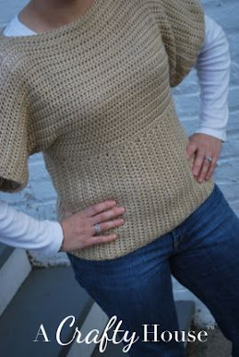Free crochet sweater pattern