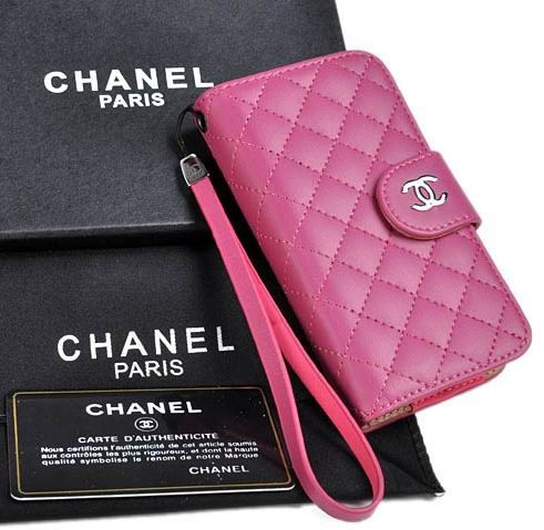 Coolest Chanel Camellia iPhone 6 Case - Nappa Leather Rose - LeatheriPhone6Cases.com
