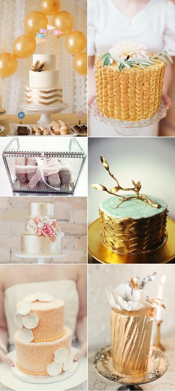 свадебные торты #wedding #newyear #gold