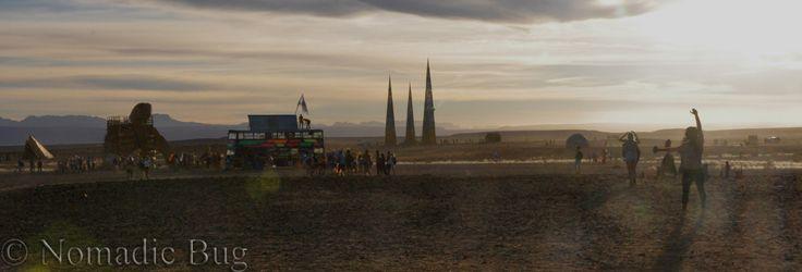 DESERT Panorama, Tankwa Town, AfrikaBurn, SOUTH AFRICA Nomadic Existence