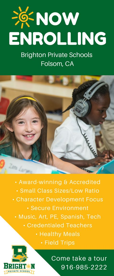 Award-winning, accredited, private elementary school located in Folsom, CA.  Elementary, Before & Aftercare, Summer Camp and Spring Break Camp. Sacramento private elementary. School website
