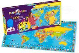 Dumel Discovery, Interaktywna mapa świata, zabawka edukacyjna-Dumel