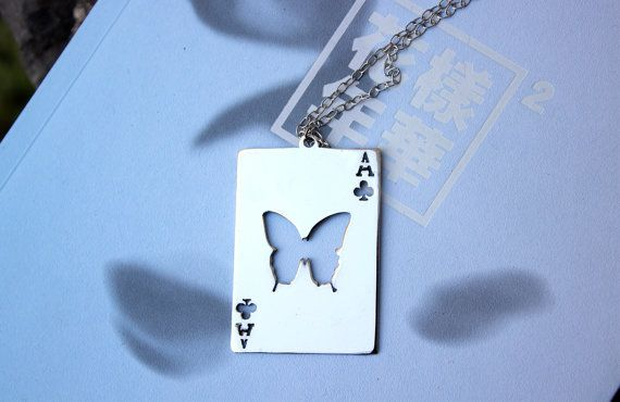 BTS - RUN Butterfly Card - The Most Beautiful Moment in Life Pt.2 - HYYH Pt.2 - In The Mood For Love Pt.2 necklace - 4 colors available